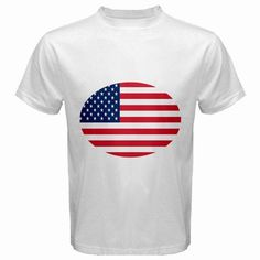 TooLoud American Flag Heart Design Infant T-Shirt