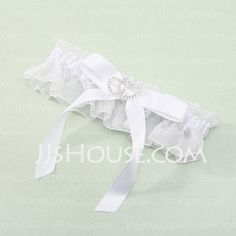 Elegant Organza With Rhinestone Wedding Garters (104019490) http://jjshouse.com/Elegant-Organza-With-Rhinestone-Wedding-Garters-104019490-g19490