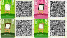 Animal Crossing Happy Home Designer - PintoPin Post Animal, My Animal, Animal Crossing Qr Codes, Acnl Paths, Motif Acnl, Ac New Leaf, Happy Home Designer, Wall Mounted Mirror, Wall Mirrors