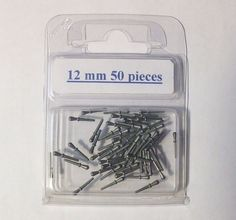 Nagel 50 pieces, 12 millimeters, metal
