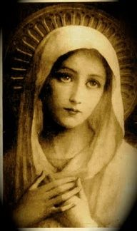 Blessed Mother Mary sees our needs. She has a longing in her eyes, which facinates me.