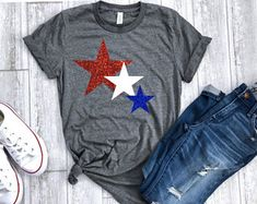 womens fourth July shirt, fourth of july shirt, 4th of july shirt,  4th of july tee,  glitter 4th tee, patriotic shirt, memorial day shirt Fourth Of July Shirts, Patriotic Shirts, July 4th, Usa Shirt, Memorial Day, Cricut, 4th Of July, Punch Art