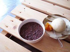 20131107_紫米紅豆牛奶粥+自製山東饅頭佐橘子醬