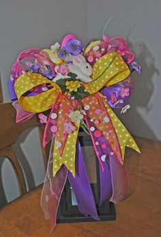 Easter Lantern Floral Arrangement from Trendy Wreath Boutique for sale on Etsy.com https://www.etsy.com/listing/178701155/easter-floral-arrangement-easter-lantern?ref=shop_home_active_2