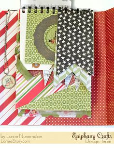 Heidi Swapp + Epiphany Crafts = Insta Christmas Mini Album