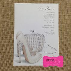 Bridal shower invitations shoe theme bridal shower bridal shoe bridal shower invitations shoe theme bridal by knotjustweddings filmwisefo Images