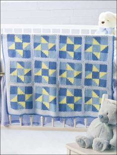 Wish Upon A Star baby afghan  FREE Pattern