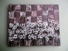 Original Acrylic Painting 9x11 Title Flowers in a by Jillsfineart, $37.00
