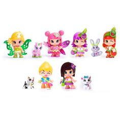 Pinypon 10-Piece Figure Set