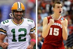 Green Bay Packers QB Aaron Rodgers Wants to Play Wisconsin's Sam Dekker One on One | FatManWriting