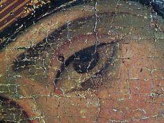 Владимирская икона БМ фрагмент Orthodox Icons, Religious Art, Byzantine, Ancient Art, Traditional Art, Fresco, Madonna, Mosaic, Greek