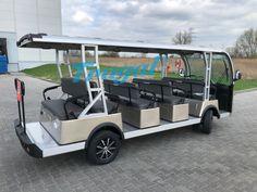 Frugal Elegant Premium elektryczny pojazd wolnobieżny - Frugal® elektryczne pojazdy - Oficjalna strona marki Golf Carts, Frugal, Toyota, Vehicles, Budget, Car, Vehicle, Tools
