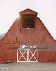 Stock Photo : Traditional Barn