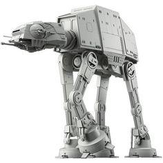 Star Wars Scale At-at Plastic Model Kit Bandai for sale online Plastic Model Kits, Plastic Models, At-at Walker, Walker Star Wars, Galactic Toys, Metal Earth, Star Wars Vehicles, Star Wars Images, Model Building Kits