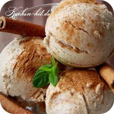 Cinnamon ice cream recipe for about 500 ml. Outside, it is really nice and hot to . Ice Cream Freeze, Vegan Ice Cream, Ice Cream Deserts, Ice Cream Recipes, Cinnamon Ice Cream, Gelato Recipe, Frozen Yoghurt, Sorbets, Ice Ice Baby