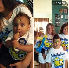 Specializing in face painting and balloon animal creations. Minion Face Paint, Minions, The Minions