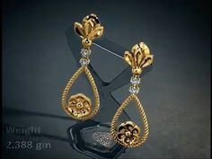 New model gold earring designs | Latest model earring designs | New trendy gold earring designs - YouTube #goldearrings #goldearringsforwomen❤ #goldearringsph #earrings Latest Earrings Design, Jewelry Design Earrings, Gold Earrings Designs, Small Earrings, Designer Earrings, Gold Jewelry, Gold Earrings For Women, Gold Jhumka Earrings, Pearl Necklace Designs
