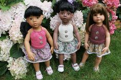 TUTO DOS-NU pour poupées GOTZ et MARU (50cms)