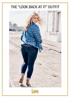a4cb5865 Commit to the blue on blue trend by pairing the Dream Soft Skinny Jeans  with your. Lee