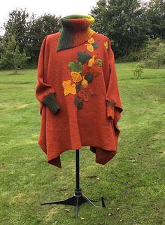 Knitting, sewing, applique, applikationer