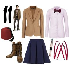 """""""11th Doctor Outfit"""" - totally making this my next Halloween costume!"""