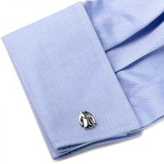 Designer Suit Jacket Cufflinks in Sterling Silver - Allurez.com