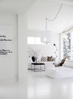 10x de mooiste interieurs met een witte vloer - Alles om van je huis je thuis te maken | Homedeco.nl