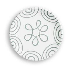 Gmundner Keramik - Graugeflammt, Dessertteller Cup (Ø 20cm) Decorative Plates, Pure Products, Tableware, Note, Home Decor, Grey, Design, Tablewares, Handmade