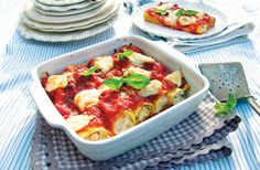 Cannelloni alla Sorrentina