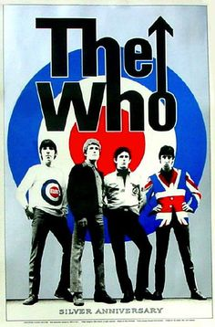 The Who Poster, Bullseye, Rock Music, Legendary Band
