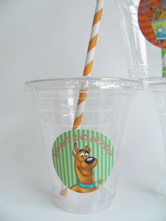 Scooby Doo Party Cups Set of 24 by 3SweetMemories on Etsy, $16.00
