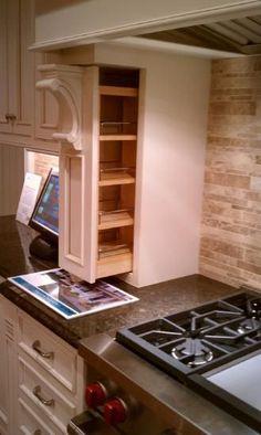 Farmhouse Kitchen Decor, Kitchen Redo, New Kitchen, Kitchen Storage, Kitchen Design, Kitchen Cabinets, Wall Storage, Kitchen Ideas, Kitchen Appliances