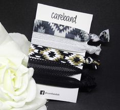 The ultimate no damage hair accessories in 19- Inca Prints- these bands hold your hair securely without ANY rips or tears  #hair #carebands #nodamage #creaseless #creaslesshairties #style #hairbands #hairband #hairaccessories #hairelastic #hairelastics #hairties #hairtie #foldoverelastic #gentlehairties #damagefree #notears #tanglefree #noknots #perfectponytail #kindtohair #pink #white #kids #girls #kidshairstyles #kidshairaccessories #kidshairties