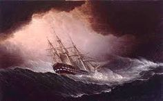 Ship in Heavy Storm – Museum Reader Family History Book, Ship Of The Line, Tall Ships, Inktober, Sailing Ships, Museum, Life, Image, Storms