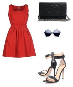 """""""Cuteee"""" by felicity151 on Polyvore featuring Carven and Gianvito Rossi"""