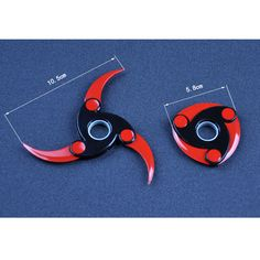 mylodia naruto Tri-Spinner Fidget Toys Pattern Hand Spiner Metal Fidget Spinner For Autism and ADHD Kids/Adult Anti Stress Wheels Cool Fidget Spinners, Metal Fidget Spinner, Hand Spinner, Ninja Weapons, Anime Weapons, Fantasy Weapons, Pretty Knives, Cool Knives, Survival Skills