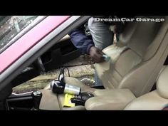 DCG1: How to repair a leather car seat rip/hole on an E36 BMW M3 Evolution - http://www.thehowto.info/dcg1-how-to-repair-a-leather-car-seat-riphole-on-an-e36-bmw-m3-evolution/