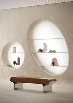 In collaboration with the taleted Studiopepe, Terzo Piano realized images for Wunderkammer. A poetic box in which architecture and design are protagonist Retail Interior, Cafe Interior, Store Interior Design, Commercial Design, Commercial Interiors, Hotel Bulle, Bench Furniture, Furniture Design, Studio Pepe