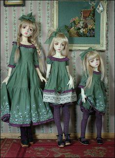 Las tres hermanitas, increibles