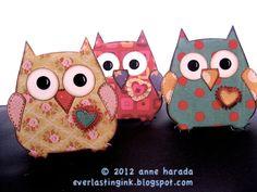Sizzix Owl #2 by Anne Harada