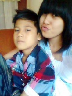 with my brother :*