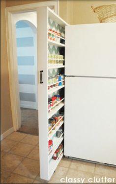 Para reaproveitar os espaços da sua cozinha