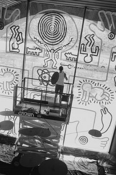 1000 images about keith haring on pinterest keith. Black Bedroom Furniture Sets. Home Design Ideas