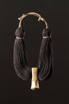Finch & Co - Hawaiian Islands Hook Shaped Sperm Whale Tooth Royal Pendant, Like one in Sainsbury collection at UEA