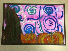 2nd Grade Starry Night