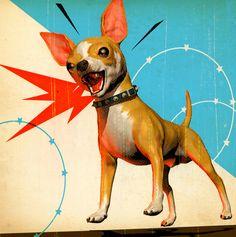 Tavis Coburn - Vicious guard dog for INC. Magazine ::: www.dutchuncle.co.uk/tavis-coburn-images