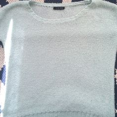 Mint green sweater Really comfy sweater can be used in winter and spring Amisu Tops Sweatshirts & Hoodies