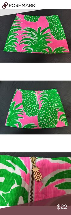 Lilly Pulitzer Tate Skirt Flamenco Lilly Pulitzer Tate Skirt Flamenco size 8! Lilly Pulitzer Skirts
