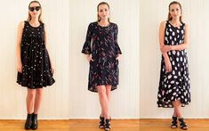 New Brisbane fashion label, inBLACK. has just launched in-time for the party season and all eyes are on their stylish collection of black dresses.