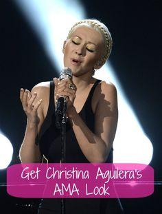 Get Christina Aguilera's 2013 American Music Awards look